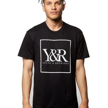 Core Box Logo Tee- Black