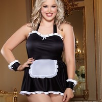 "Plus Size ""Maid Me Dirty"" Sexy Maid Costume"