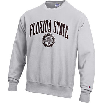 Florida State University Reverse Weave Crewneck Sweatshirt | Florida State University