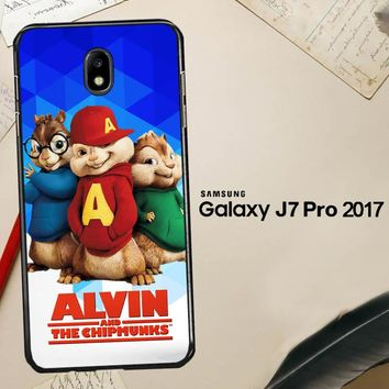 Alvin And The Chipmunks R0317 Samsung Galaxy J7 Pro SM J730 Case