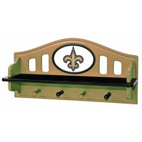 New Orleans Saints Wooden Shelf (Snt Team)