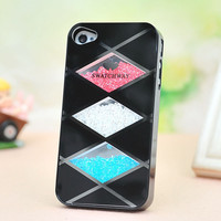 Cool Rhombus Hard Cover Case For Iphone 4/4s/5