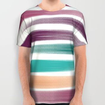 Brush strokes All Over Print Shirt by EDrawings38