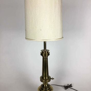 Vintage Brass  table Lamps Shade