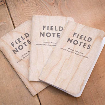 Cherry Graph Field Notes Memo Books (Set of three)