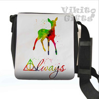 Always - Messenger Shoulder bag, Harry Potter - Always Small Bag, Watercolor Art Bag
