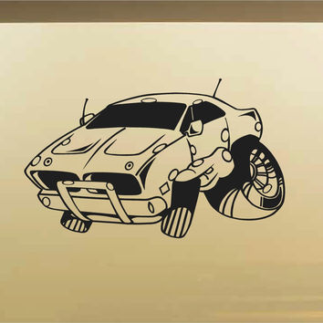 Charger Car Wall Decal - Auto Wall Mural - Vinyl Stickers - Boys Room Decor