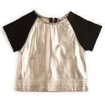 Outlet Appaman Gold Metallic Clara Top