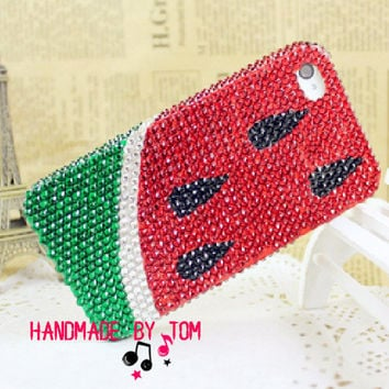 Delicious watermelon iphone 4 case iphone 4s case iphone 5 case samsung galaxy s4 phone case galaxy s3 case galaxy note 2 case s2 case