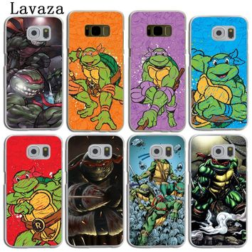 Lavaza Teenage Mutant Ninja Turtles Hard Skin Phone Shell Case for Samsung Galaxy S9 S8 Plus S3 S4 S5 S6 S7 Edge Back Cover