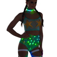 LED Light-Up Mermaid Chokers