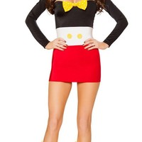Mickey's Playhouse Women's Mickey Mouse Halloween Costume
