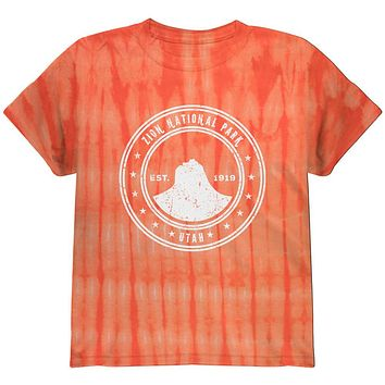 Zion National Park Youth T Shirt