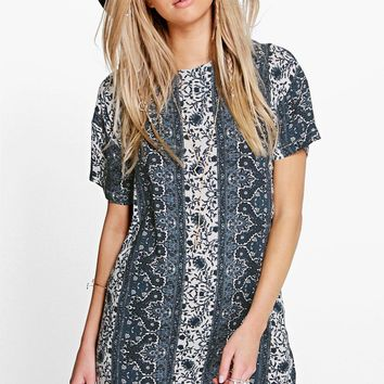 Daianne Floral Shift Dress