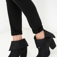 Sbicca Chord Black Fold-Over Boots