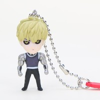 Genos One Punch Man Anime Keychain key chain Pendant