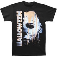 Halloween Men's  Paint T-shirt Black