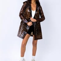 Leopard Spray Jacket | Princess Polly
