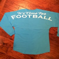 Monogram Football Spirit Jersey Personalize to Any Sport or Hobby
