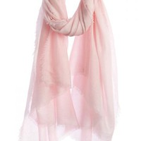 Bisou Solid Cashmere Scarf | Calypso St. Barth