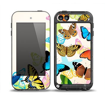 The Colorful Vector Butterflies Skin for the iPod Touch 5th Generation frē LifeProof Case