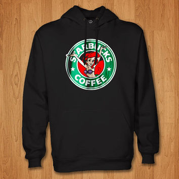Ariel Mermaid starbucks hoodie women and men ,,