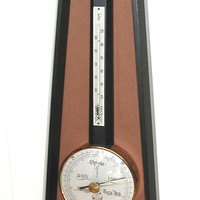 Jason Barometer / Thermometer Vintage Wall Hanging Weather Station