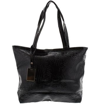 Vegan Alligator Tote