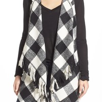 Jolt Buffalo Check Hooded Vest | Nordstrom