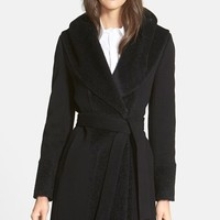 Women's Trina Turk 'Jane' Wool Blend Wrap Coat