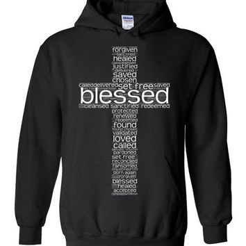 At The Cross (Blessed) - Hoodie