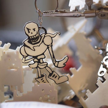 Undertale inspired Papyrus key-chain