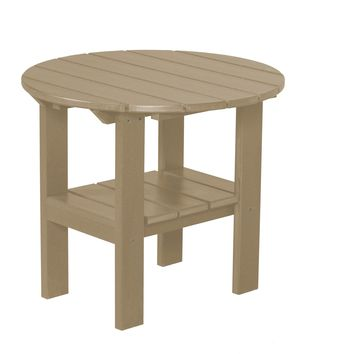 Wildridge Heritage Outdoor Round Side Table  - Ships in 10-14 Business Days