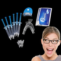 Sl Teeth Whitening Kit 6 Pieces Whitening Gel 2 Pair Tooth Whitening Strip Sr Color Clear