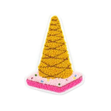 Ice Cream Cone Chenille Patch