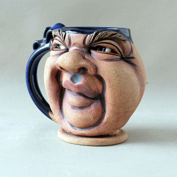 PUDGY, a one of a kind FACE MUG
