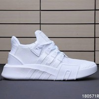 ADIDAS EQT Bask ADV Knit Casual Sports Running Shoes for Men and Women F-A0-HXYDXPF white