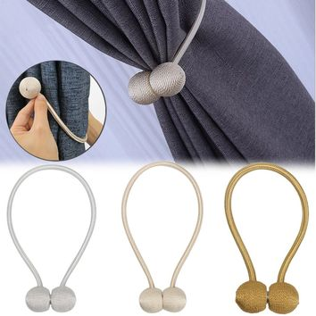 40cm Magnetic Elegant Curtain Tiebacks Tie Backs Hooks for Clothing Home Textiles DIY