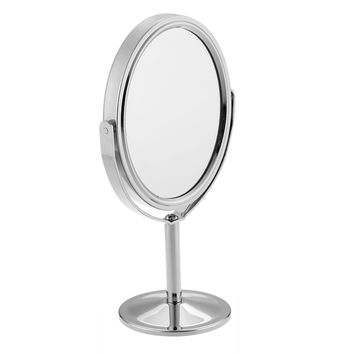 3 inch Make Up Dual Side Magnifying Round Stand Mirror