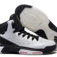 Adidas D Rose 6 Boost (White/Black  )  Men's  Basketball Shoes