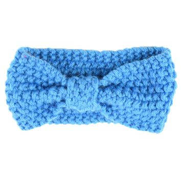 Baby Girl's Elastic Knit Warm Headbands Hair Accessories for Newborn Toddler and Kids