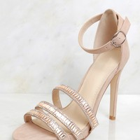 Sequential Steps Heel Nude