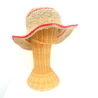 Hemp Bucket Hat Bucket Hat Boho Hat, Hemp Hat Hippie Bucket hat Hipster hat Bohemian eco friendly hat Cream sun hat gift