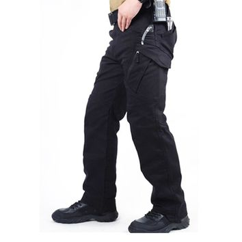 Urban Tactical Pants Mens Military Combat Assault Outdoor Sport SWAT Training Army Trousers 97% cotton 3% Spandex YKK zipper