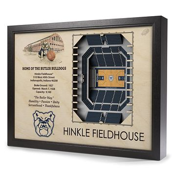 Butler Bulldogs 25-Layer StadiumView 3D Wall Art