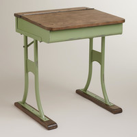 Mint Schoolhouse Desk