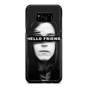 Mr Robot Hello Friends Samsung Galaxy S8 Case