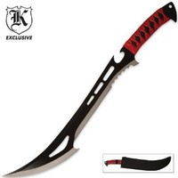 Red Guardian Fantasy Sword & Sheath