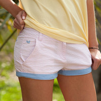 The Brighton Short - Seersucker - Women's