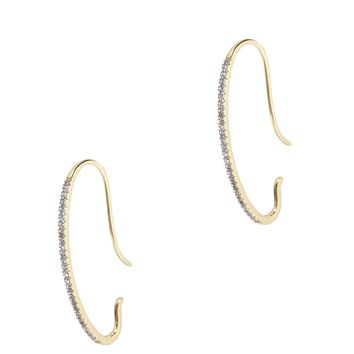 Gossamer Diamond Earrings